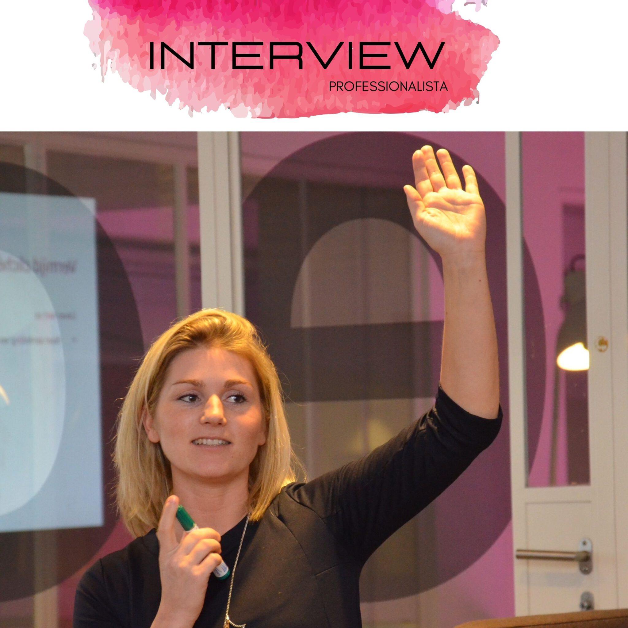 Interview Professionalista Alette den Exter