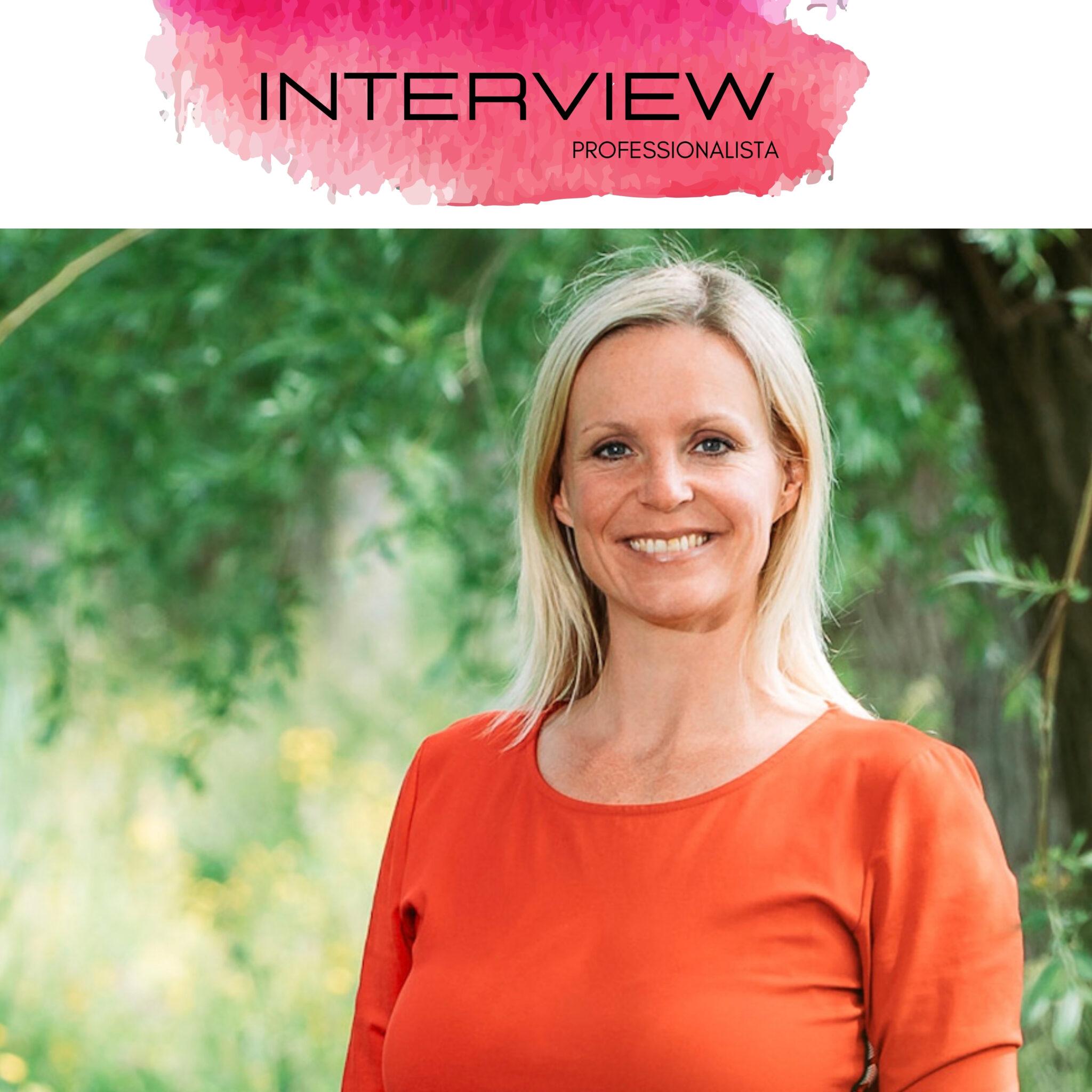 Interview Professionalista Daniëlle Lous
