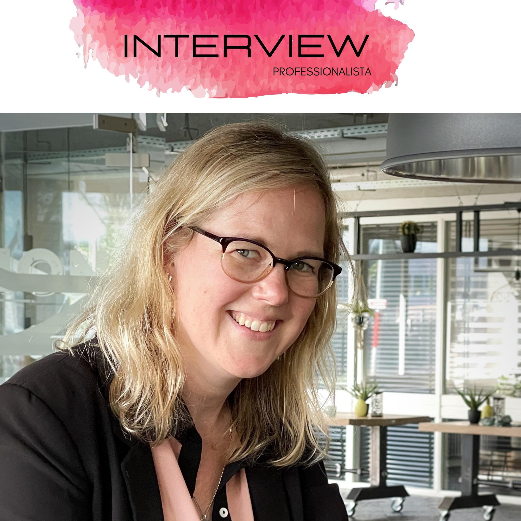 Interview Professionalista Nienke Schaafsma