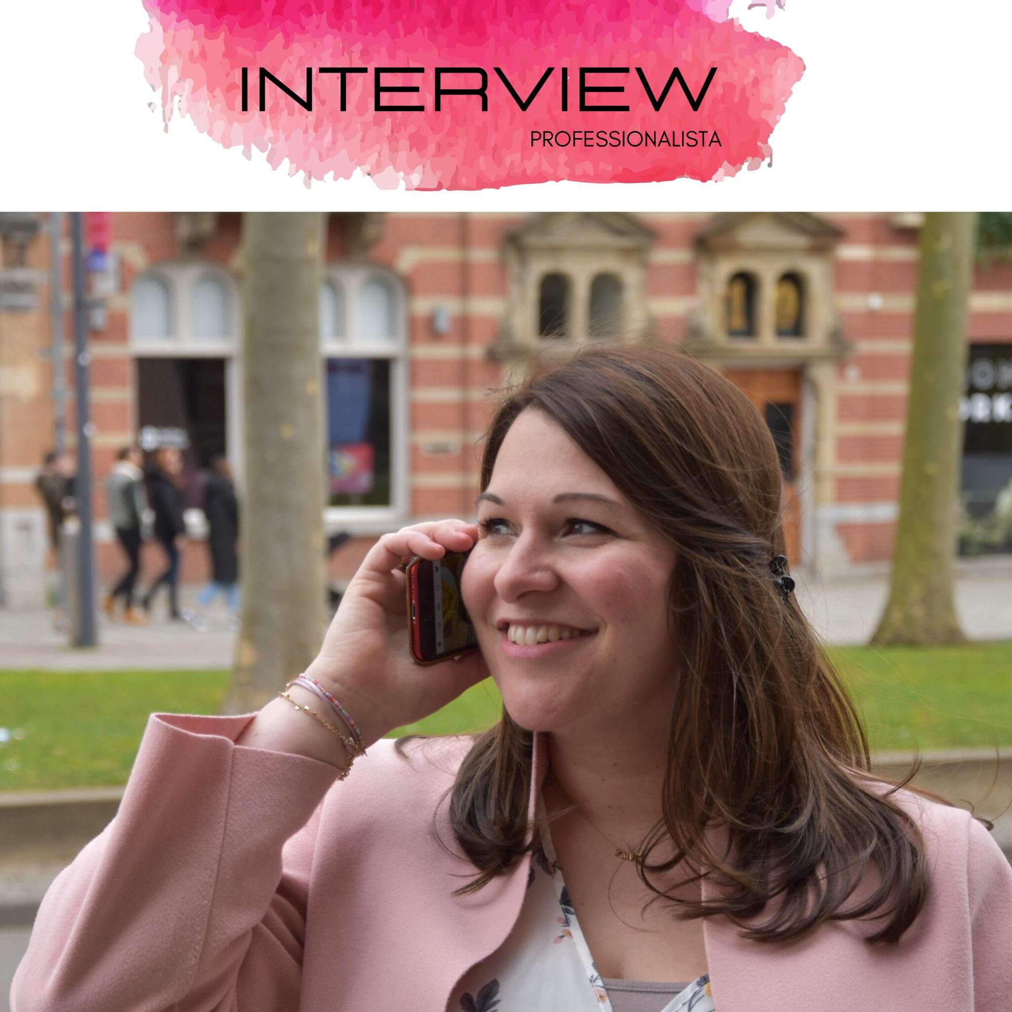 Interview Professionalista Kim de Veer-Krijger